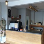 Counter at the new Coffee Den