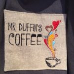 Mr Duffin's Logo - Gillian's Embroidered Logo