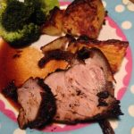 Roast Shoulder Pork with Coffee Spice Rub