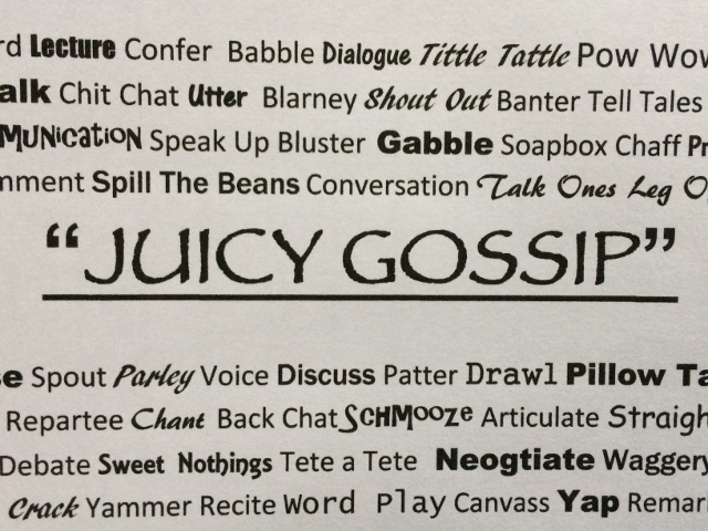 Juicy Gossip coffee blend