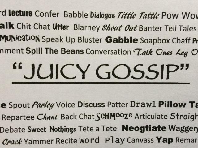Juicy Gossip coffee blend