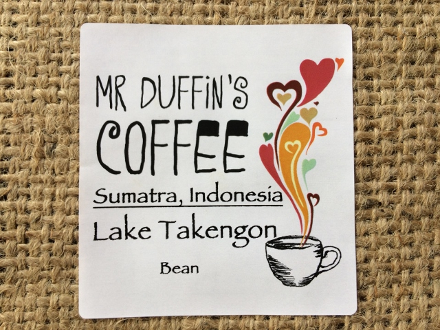 Lake Takengon single origin coffee