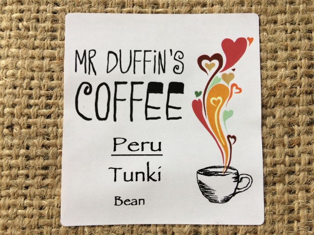 Tunki single origin coffee