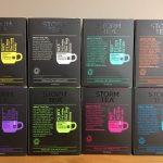 8 boxes of Storm Tea