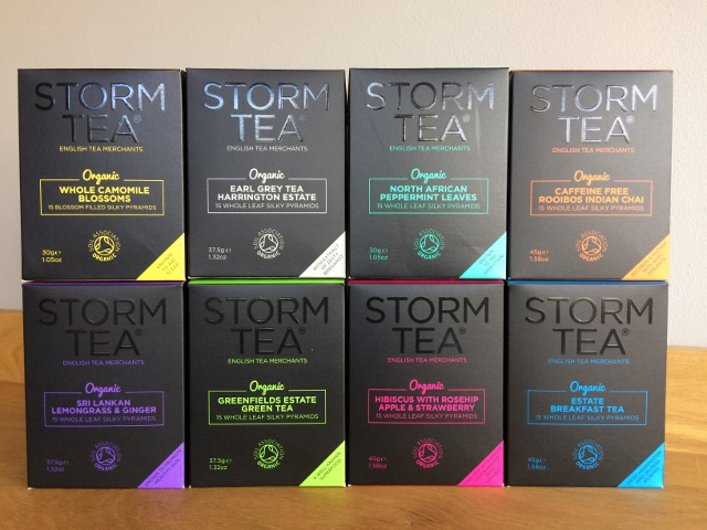 8 boxes of Storm Tea