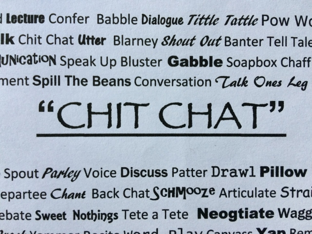Chit Chat coffee blend