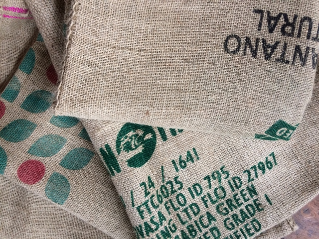 Compilation of coffee sacks