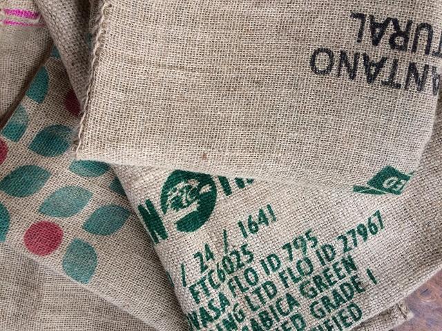 Compilation of coffee sacks