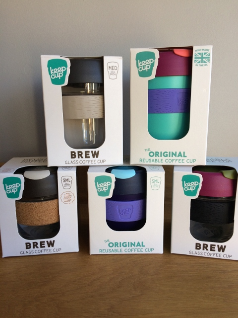 Keep Cups reusable cups
