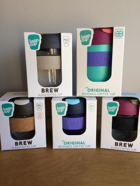 Keep Cups reusable cups