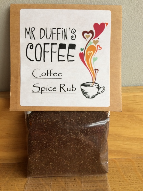 Coffee spice rub